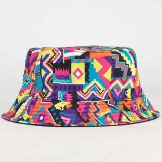Summer In The City Mens Reversible Bucket Hat Multi One Size For Men 2328479