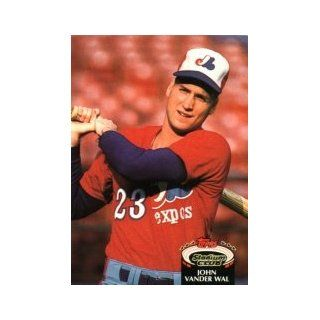 1992 Stadium Club #385 John Vander Wal: Sports Collectibles