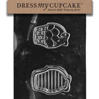 Dress My Cupcake Chocolate Candy Mold, Easter Basket Pour Box, Easter Candy Making Molds Kitchen & Dining