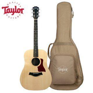 Taylor Guitars Big Baby Taylor, BBT, Natural Acoustic Guitar with Taylor Gig Bag Musical Instruments