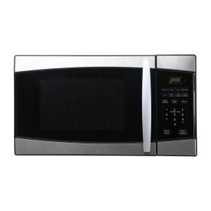 Haier 0.7 cu. ft. 800 Watt Counter Compact Top Microwave Oven, 10 Power Levels, 6 One Touch Cooking Programs DISCONTINUED HMC735SESS