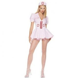Sexy Leg Avenue Candy Striper Nurse Costume: Clothing