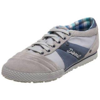 Diesel Women's Live Rush Lace Up Sneaker, Vapour Blue/China Blue, 5 M US: Shoes