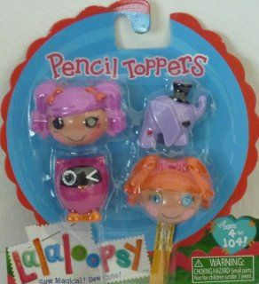Lalaloopsy Pencil Toppers  Peanut Big Top & Bea Spells a Lot: Toys & Games