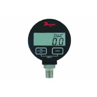 Dwyer DPGA Series Digital Pressure Gauge for Liquids and Compatible Gases, Range 0 to 30 psig Industrial Pressure Gauges Industrial & Scientific