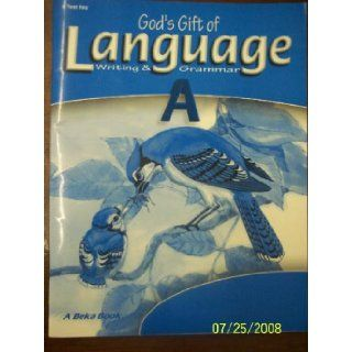 God's Gift of Language A Writing and Grammar TEST KEY (A Beka Book) H. Mayfield, M. Hedquist Books