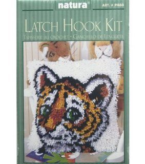 Natura P460 12 Inch by 12 Inch Latch Hook Kit, Tiger Cub