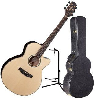 Takamine EG463SC NEX Acoustic Electric Guitar w/Hardshell Case and Stand Musical Instruments
