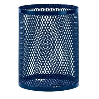 Ultra Play 32 gal. Diamond Blue Commercial Park Portable Trash Receptacle EX 32 B