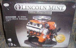 #455 Testors Lincoln Mint Dodge A 990 Hemi Race Engine 1/6 Scale Metal Model Kit,Needs Assembly Toys & Games