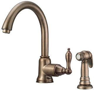 faucet with matching side spray chrome touch on kitchen sink faucets
