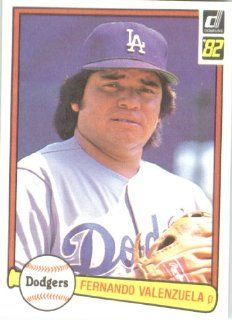 Fernando Valenzuela Los Angeles Dodgers (Baseball Card) 1982 Donruss #462 Sports Collectibles