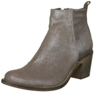 Diesel Women's PINKY Ankle Boot,Brown,5 M US: Shoes