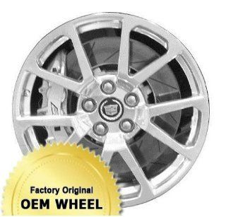 CADILLAC CTS,STS 19x9 5 DOUBLE SPOKE Factory Oem Wheel Rim  SILVER   Remanufactured: Automotive