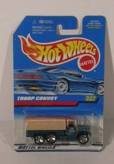 Hot Wheels Troop Convoy #487 1997 MOC: Entertainment Collectibles