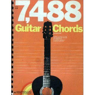 7, 488 Guitar Chords: Books
