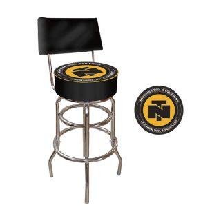 Bar Stool With Backrest   Northern Tool & Equipment Logo, Model NTOOL1100