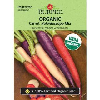 Burpee Organic Carrot Kaleidoscope Mix Seed 68384