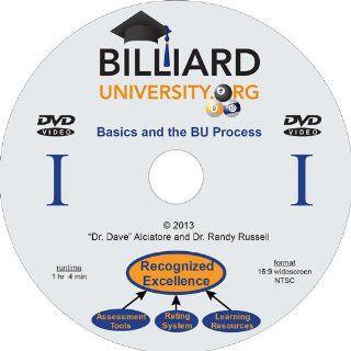 Billiard University Instructional Series   DVD 1  Sports Fan Billiards Equipment  Sports & Outdoors