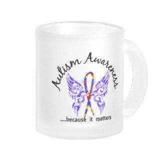 Grunge Tattoo Butterfly 6.1 Autism Coffee Mugs