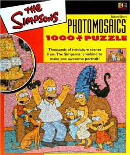 Simpsons Photomosaic Family Jigsaw Puzzle 1026pc Toys & Games