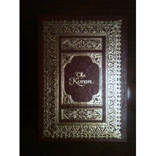 THE KORAN: SELECTED SURAS Easton Press: Valenti Angelo (Illustrator). translated by Arthur Jeffery The Koran: Books