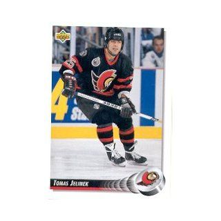 1992 93 Upper Deck #497 Tomas Jelinek RC Sports Collectibles