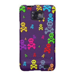 Skull Wallpaper Samsung Galaxy Cases