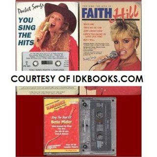 RARE   YOU SING PATTY LOVELESS (Pocket Songs You Sing the Hits) CASSETTE & LYRICS   PS 501 **PLUS 3 FREE GIFTS You Sing The Hits of Faith Hill   PS 2174 (No Lyrics) / Karaoke Sing The Best of Bette Midler / The Singing Machine Karoke Cassette Music
