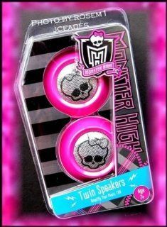 Twin Speakers To Amplify Your Music 10X   Monster High Twin Speakers Amplify Your Music 10x