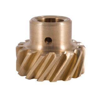 """Crane Cams 44990 1 0.531"""" Bronze Distributor Gear for Ford V8 Automotive"""