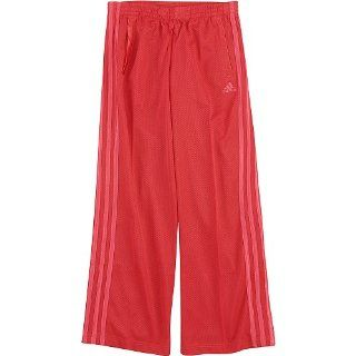 adidas Girls 2 6x High Flyer Pant, Red, S (7/8)  Athletic Pants  Sports & Outdoors