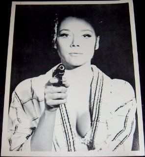 "Actress Diana Riggs ""Emma Peel"" Publicity Photograph (Television Memorabilia) : Other Products : Everything Else"