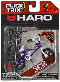 "X2 by Haro Bikes: Flick Trix ~4"" BMX Finger Bike w/ Real Brakes: Toys & Games"