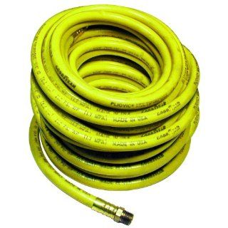 "Amflo 522 100 Yellow 300 PSI PVC Air Hose 1/4"" x 100' With 1/4"" MNPT End Fittings Air Tool Hoses Industrial & Scientific"