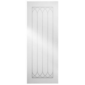 Delta 48 in. Shower Door Glass Panel in Mila SDGS048 CLL R