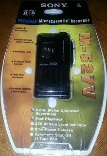 Sony Pressman Micro Cassette Recorder M 527v  Microcassette Recorders   Players & Accessories