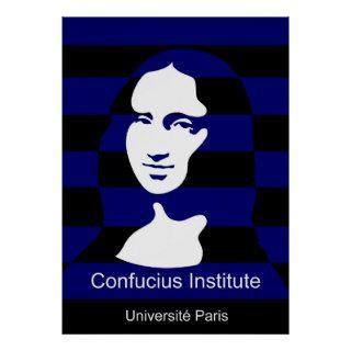 Confucius Institute in Paris, France Poster