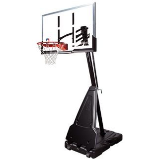 Spalding 68564 NBA 54 Inch Acrylic Screw Jack Portable Basketball System (68564)