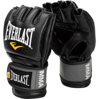 Everlast Pro Style Grappling Gloves   Size: Small/medium, Black (7778BSM)