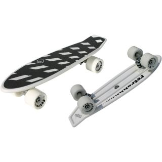 Atom 21 Mini Retroh Molded Skateboard   Choose Color, White (91065)