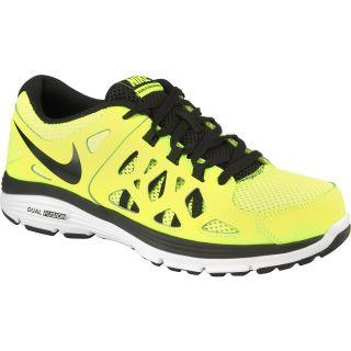NIKE Boys Dual Fusion Run 2 Running Shoes   Size 7, Iguana/bamboo