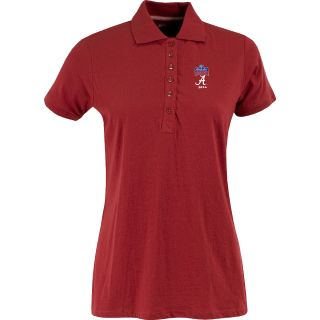 Antigua Womens Spark Polo w/ Sugar Bowl Alabama Crimson Tide Logo   Size: