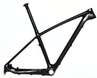 "Full Carbon ( UD ) 650B 27.5er MTB Mountain Bike Frame BB30 17"" + Seatpost : Mountain Bicycle Frames : Sports & Outdoors"