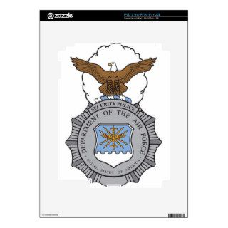 United States Air Force Security Forces Badge iPad 2 Skin