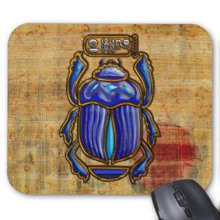 Ancient Egyptian Scarab Mouse Pad