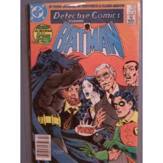 Detective Comics Starring Batman; # 547 [Batman Is Now the Night Slayer, and the Night Slayer Is Now the Batman] (No. 547, February 1985) Doug Moench Books