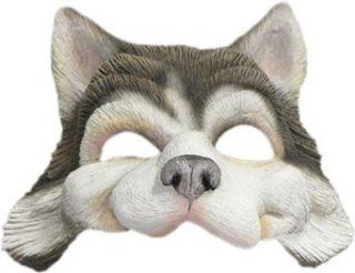 Husky Dog Mask Clothing