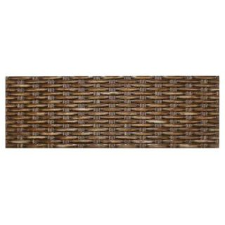 Merola Tile Denali Wengue 6 in. x 17 3/4 in. Ceramic Wall Tile (11 sq. ft. / case) DISCONTINUED WAMDWG