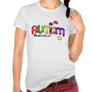 Autism Awareness Puzzle T shirt